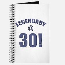 Legendary At 30 Journal