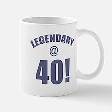 Legendary At 40 Mug