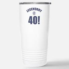 Legendary At 40 Stainless Steel Travel Mug