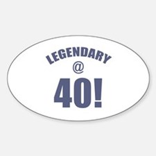 Legendary At 40 Decal