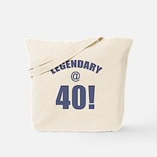 Legendary At 40 Tote Bag