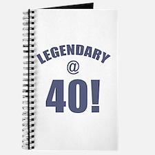 Legendary At 40 Journal
