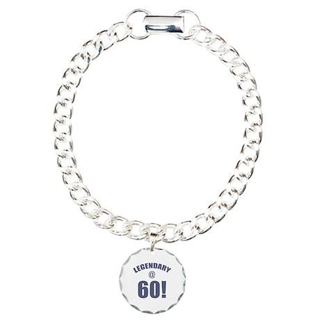 Legendary At 60 Charm Bracelet, One Charm