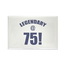 Legendary At 75 Rectangle Magnet