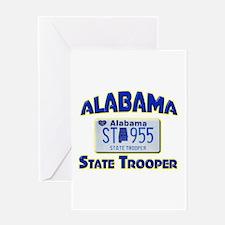 Alabama State Trooper Greeting Card