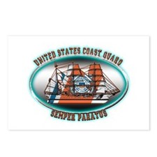 USCG Coast Guard Eagle Postcards (Package of 8)