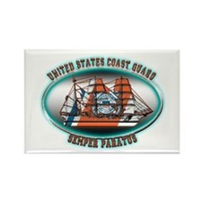 USCG Coast Guard Eagle Rectangle Magnet