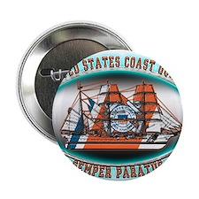 """USCG Coast Guard Eagle 2.25"""" Button (10 pack)"""