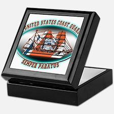 USCG Coast Guard Eagle Keepsake Box