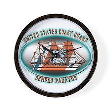 USCG Coast Guard Eagle Wall Clock