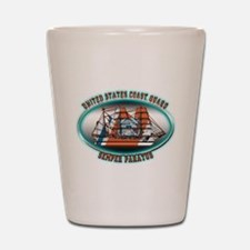 USCG Coast Guard Eagle Shot Glass