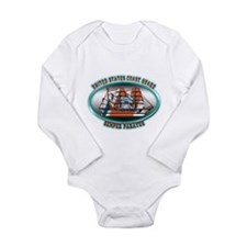 USCG Coast Guard Eagle Long Sleeve Infant Bodysuit
