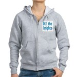 Square Logo Women's Zip Hoodie