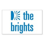 Square Logo Sticker (Rectangle 50 pk)