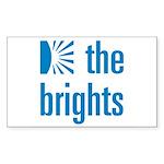 Square Logo Sticker (Rectangle 10 pk)