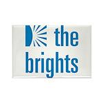 Square Logo Rectangle Magnet (100 pack)