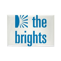 Square Logo Rectangle Magnet (10 pack)