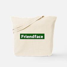 IT Crowd - Friendface Tote Bag