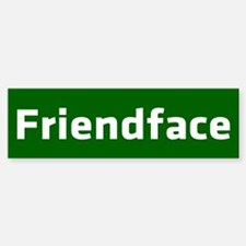 IT Crowd - Friendface Bumper Bumper Sticker
