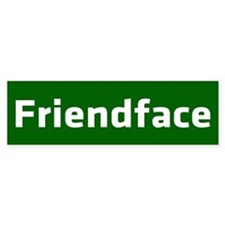 IT Crowd - Friendface Bumper Sticker