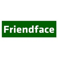 IT Crowd - Friendface Car Sticker