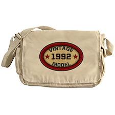Vintage Model Birthday Year Messenger Bag