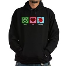 Peace Love Ladybugs Hoodie