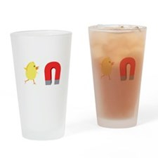 Chick Magnet Drinking Glass