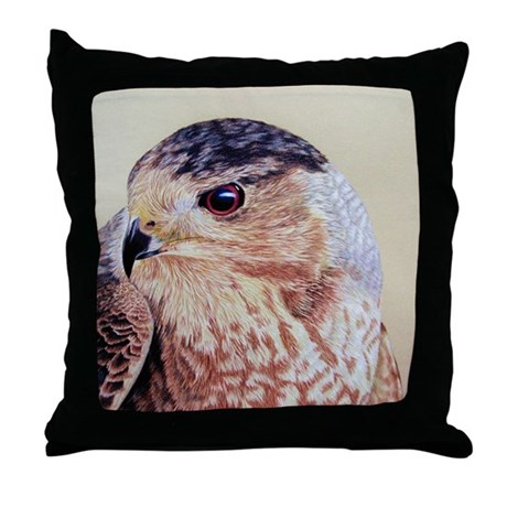 Coopers Hawk Throw Pillow