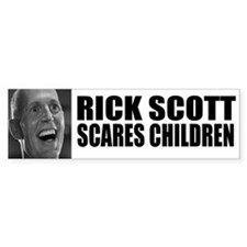 Scares Children Bumper Bumper Sticker