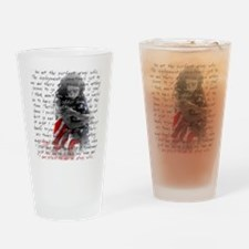 ARMY WIFE POEM Drinking Glass