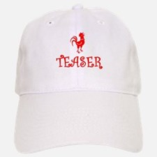 COCK TEASER - OK? Baseball Baseball Cap
