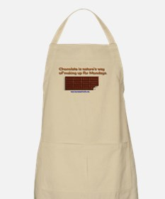 Chocolate is nature's way Apron