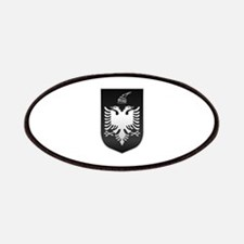 Albanian State Emblem Patches
