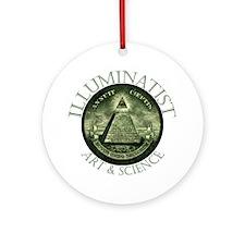 Illuminati Shop Ornament (Round)
