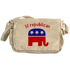 Lil Republican Messenger Bag