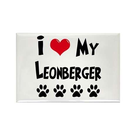 Leonberger Rectangle Magnet (10 pack)