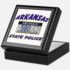 Arkansas State Police Keepsake Box