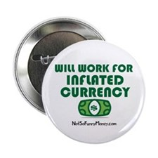 "Will Work Inflation 2.25"" Button (10 pack)"