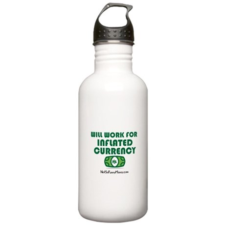 Will Work Inflation Stainless Water Bottle 1.0L
