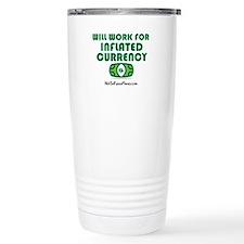 Will Work Inflation Travel Mug
