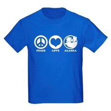 Peace Love Alaska T