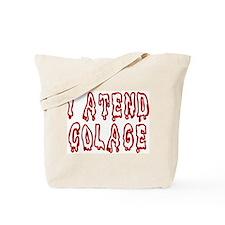 Unique Student campus Tote Bag