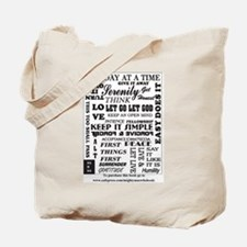 Cute Clean and sober Tote Bag