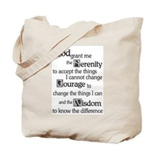 Cute Alcoholics anonymous saying Tote Bag