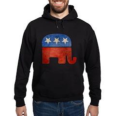 Republican Logo -Faded Hoodie