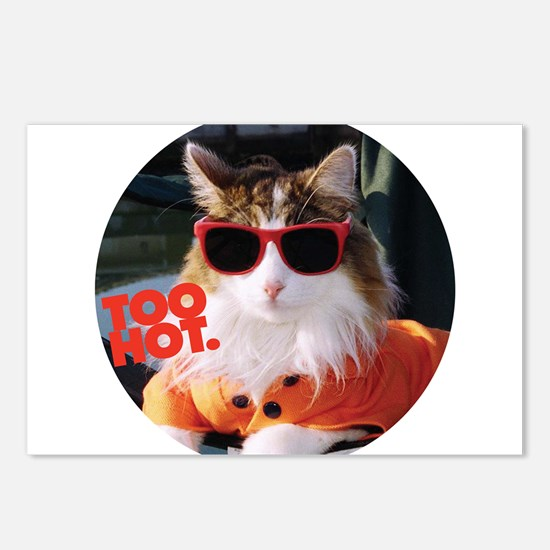 Hot Kitty Postcards (Package of 8)