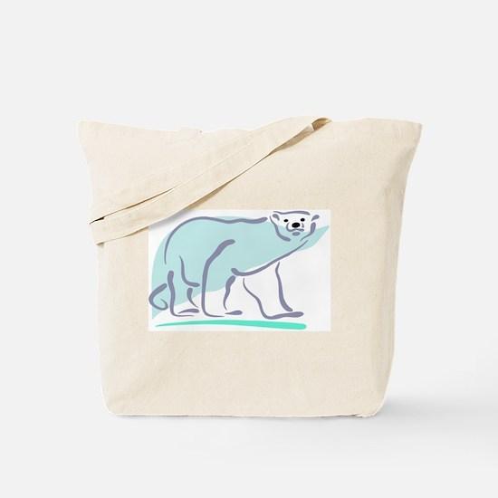 Polar Bear100 Tote Bag