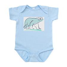 Polar Bear100 Infant Creeper