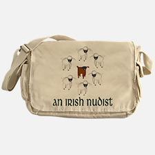 An Irish Nudist Messenger Bag